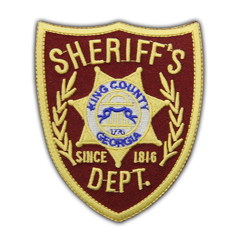 Walking Dead Sheriff's Dept. King County Georgia Patch-tvso