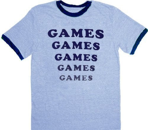 Amusement Park Games Games Games T-shirt-tvso