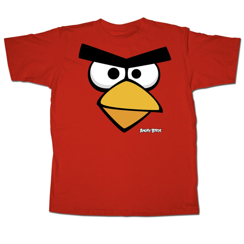 Angry Birds Red Face Youth T-shirt-tvso