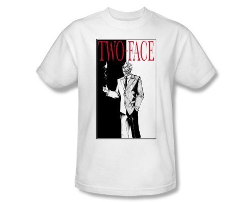 Batman Two Face Scarface Parody T-shirt-tvso