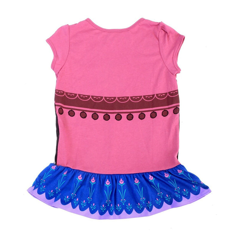 I Am Anna Short Sleeve Girls Costume Dress-tvso