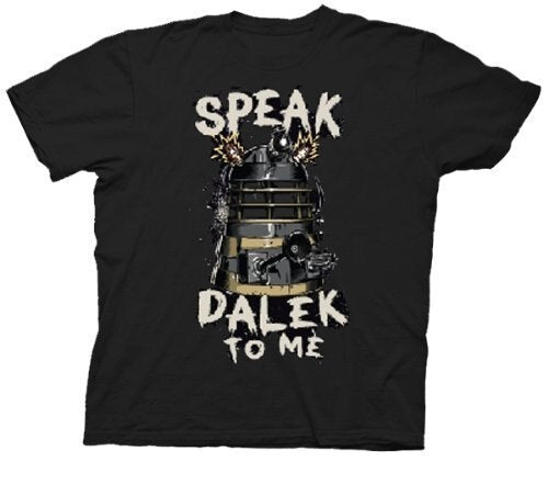 Doctor Who Speak Dalek To Me T-Shirt-tvso