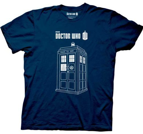 Series 7 Linear TARDIS T-Shirt-tvso