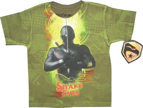 G.I. Joe The Rise of Cobra Snake Eyes T-Shirt-tvso