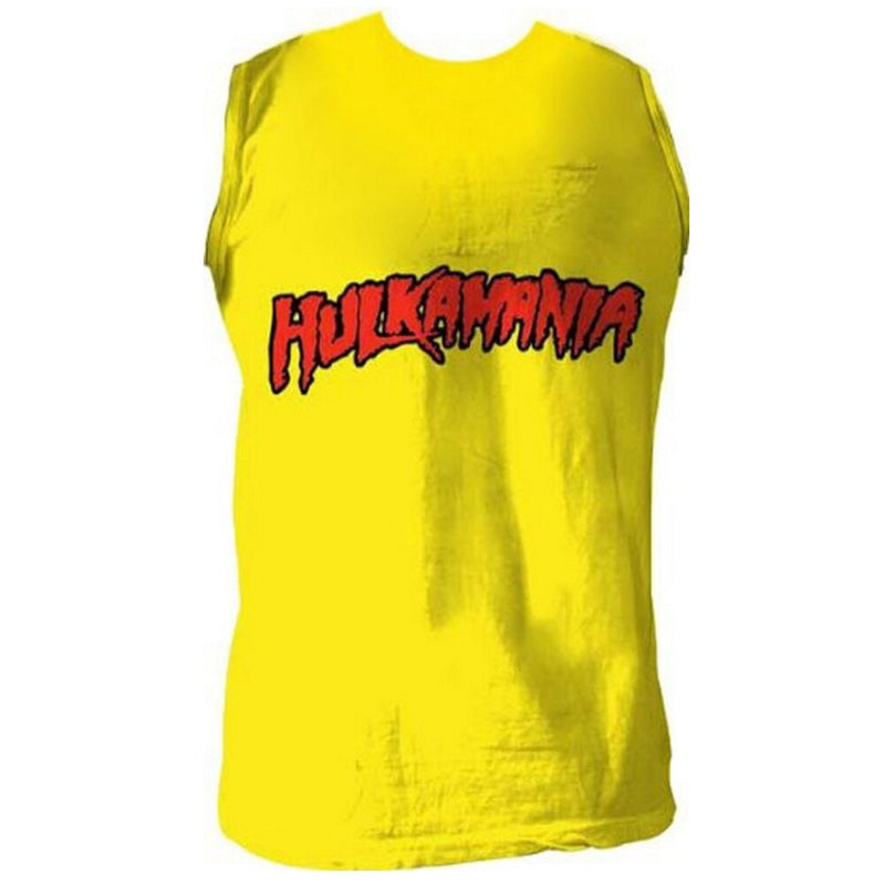 Hulkamania Sleeveless Shirt-tvso