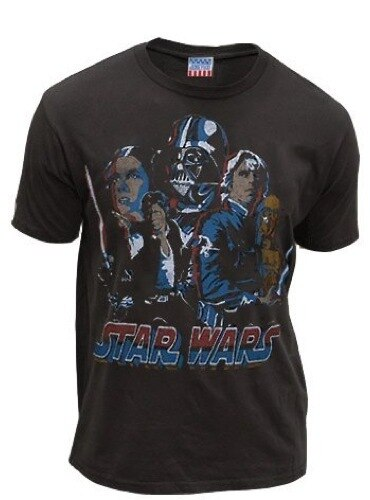 Star Wars Red, White & Blue Rogues & Jedi Washed T-shirt-tvso