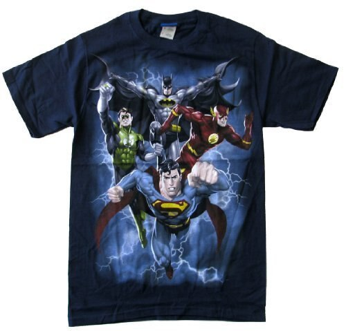 The Justice League the Coming Storm T-Shirt-tvso