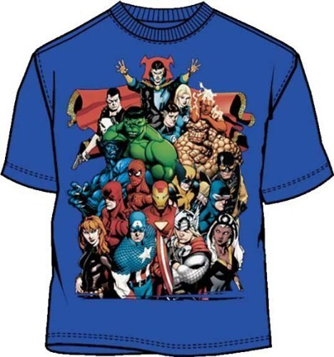 Marvel Comics Team-Ups Brazen Heroes T-shirt-tvso