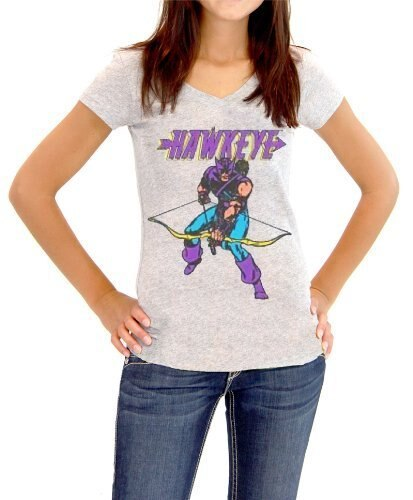 Hawkeye Bow Down Juniors T-shirt-tvso