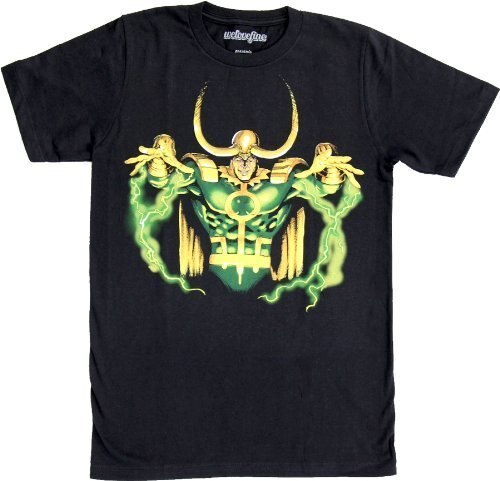 Loki God of Mischief Hands Up T-Shirt-tvso