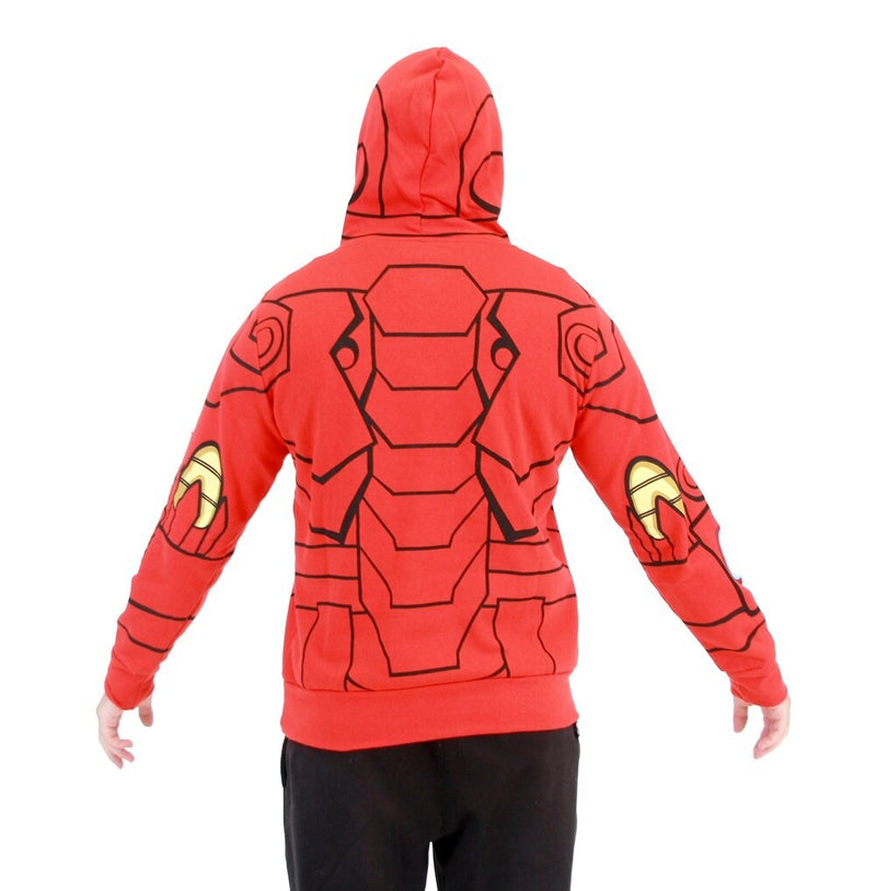 I Am Iron Man LED Light Up Hoodie Sweatshirt-tvso