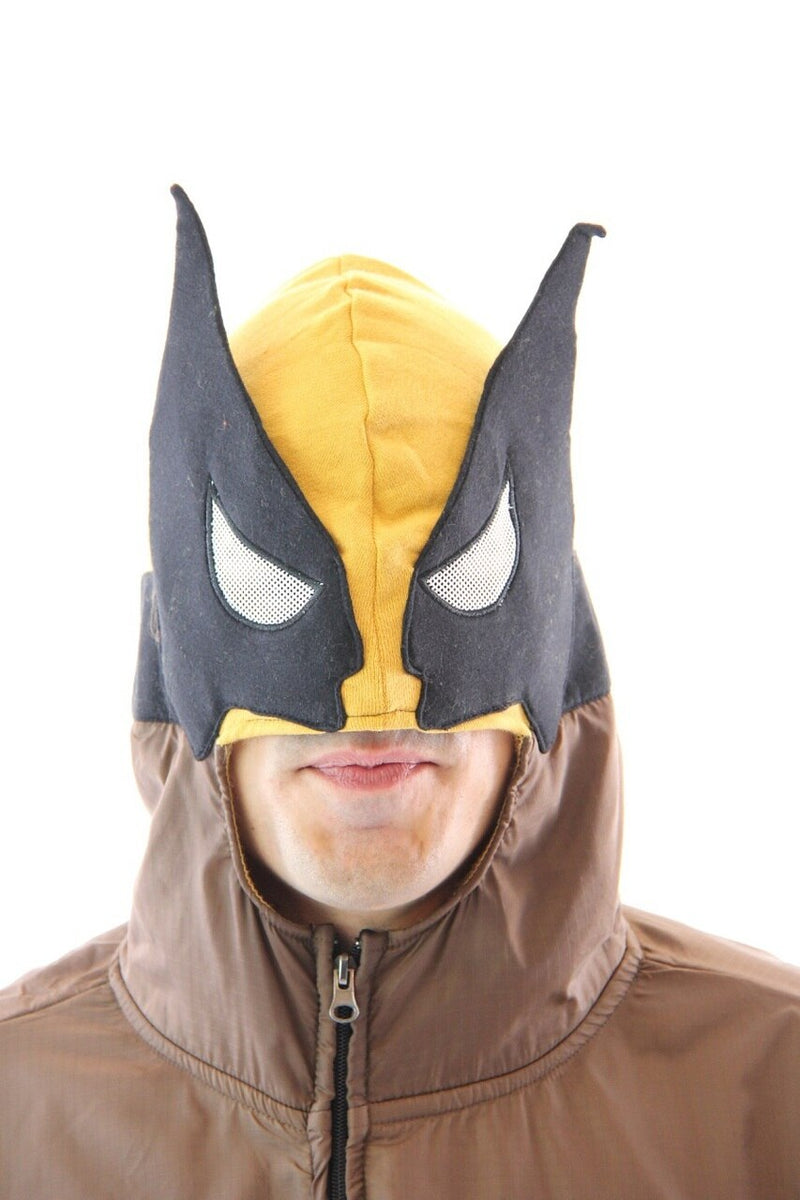 Wolverine Adult Brown Costume Hoodie Sweatshirt-tvso