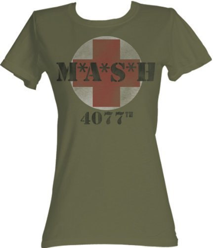 MASH 4077th Circle Army T-shirt-tvso