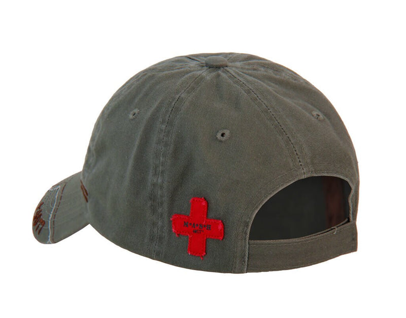 MASH Medi-Vac Logo Adjustable Cap Hat-tvso