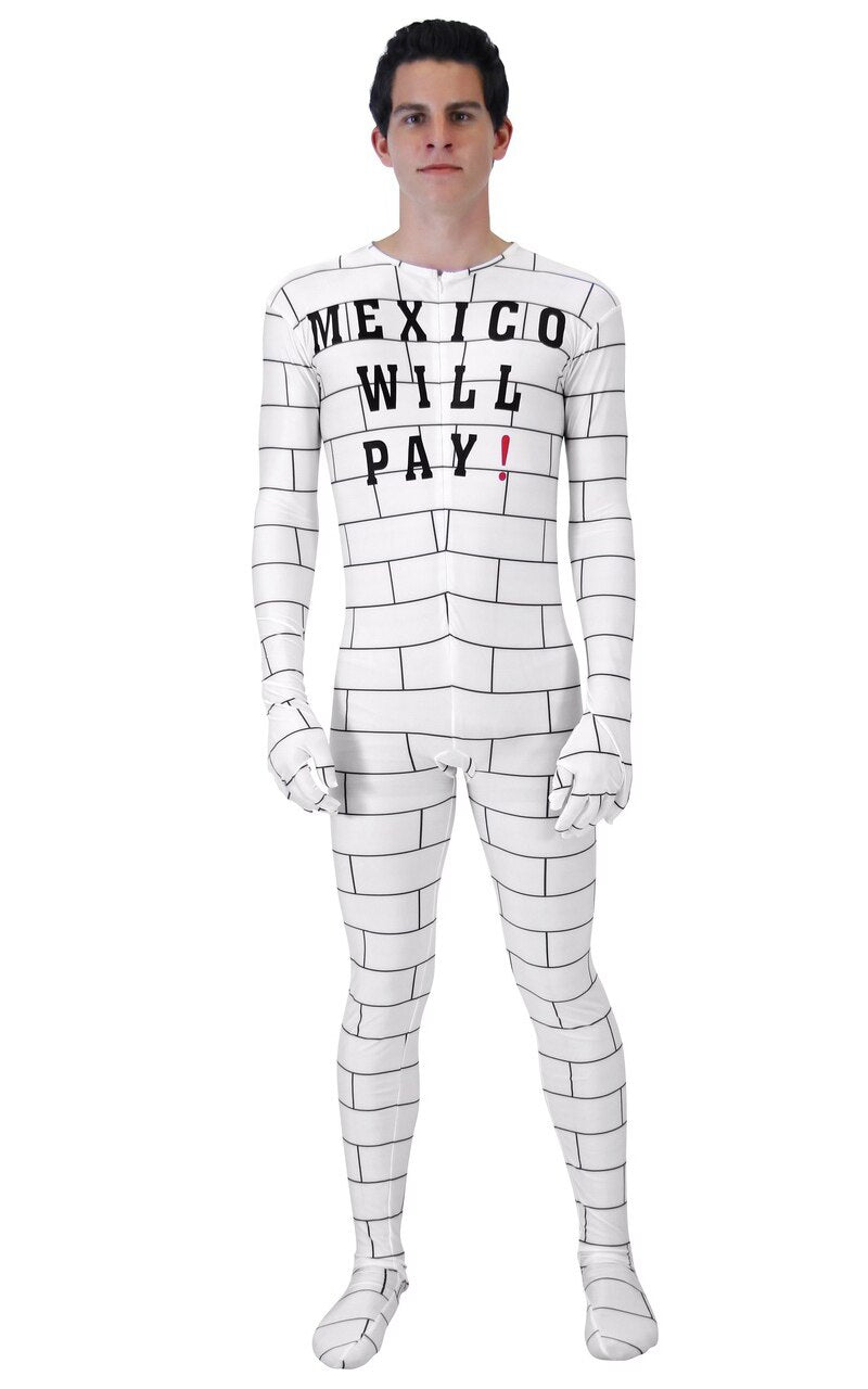 Trump Mexico Will Pay Costume Jumpsuit-tvso
