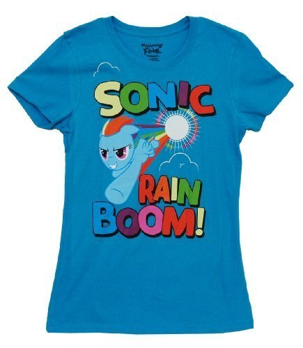 My Little Pony Sonic Rain Boom T-shirt-tvso