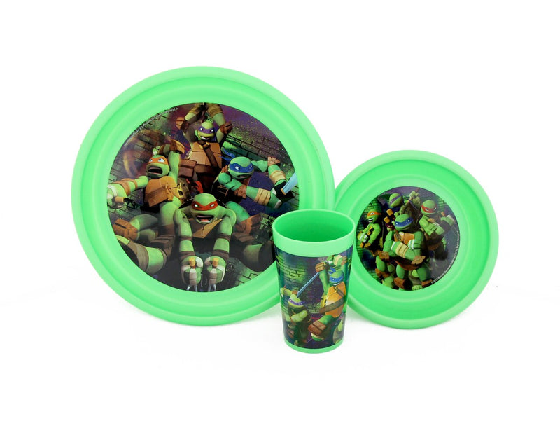 TMNT 3 Piece Meal Set-tvso