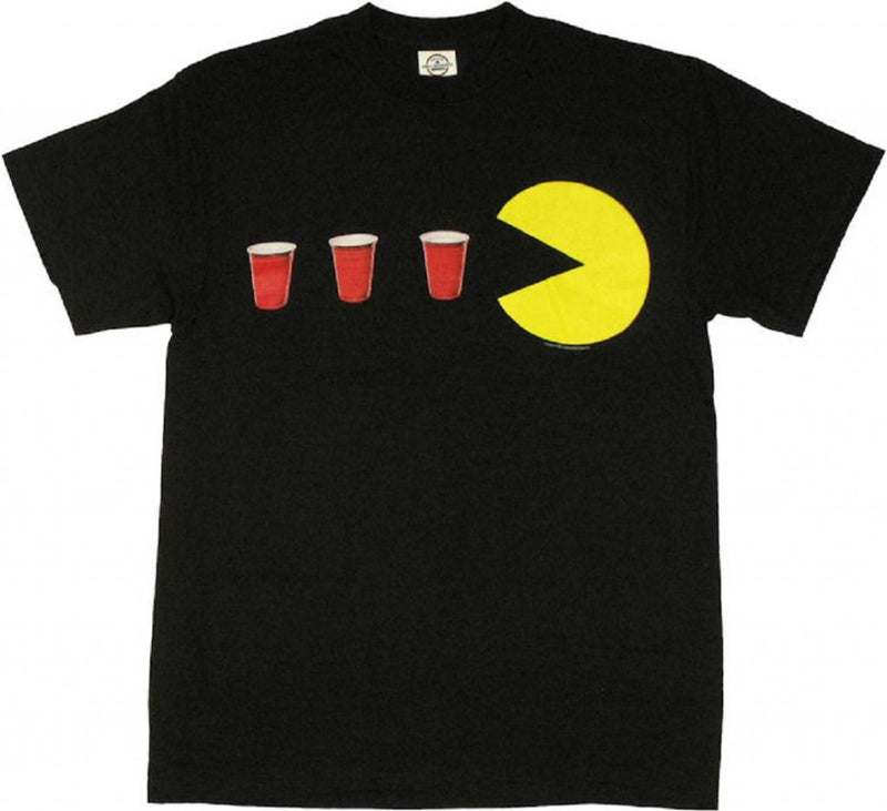 Pac-Man Red Cup Power Up T-shirt-tvso