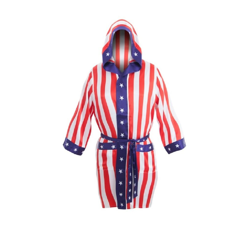 Apollo Boxing American Flag Robe-tvso