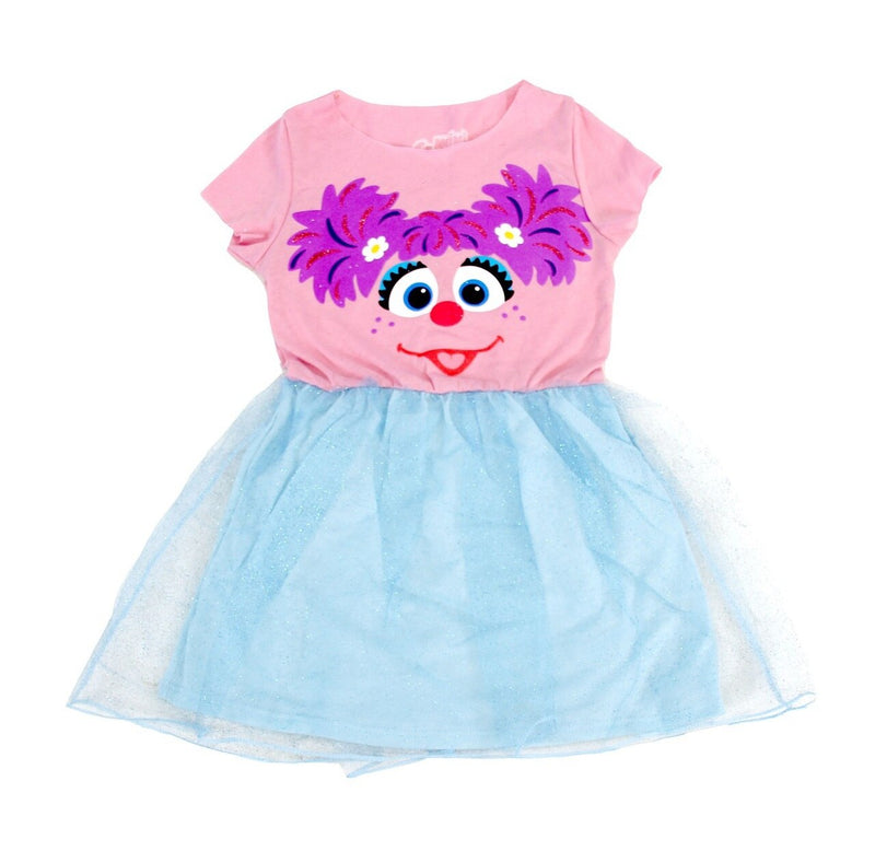 Sesame Street Abby Glitter Dress-tvso