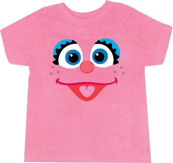 Abby Cadabby Fairy Face T-shirt-tvso
