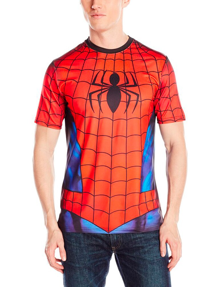 Spider-Man Performance Athletic Sublimated T-Shirt-tvso