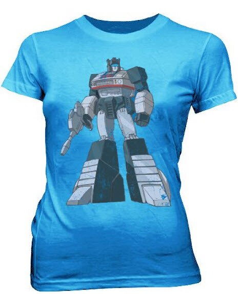 Transformers Optimus Prime Distressed T-shirt-tvso