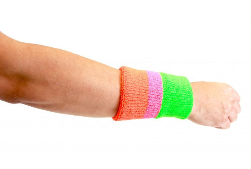 The Ultimate Warrior 3-Stripe Wristband Set-tvso