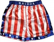 Rocky Balboa Apollo Movie Boxing American Adult Flag Shorts