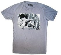 Rocky Balboa Movie Rocky Meat Adult Vintage Gray T-Shirt