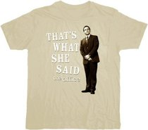 The Office That's What She Said Beige T-Shirt