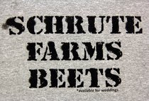 The Office Schrute Farm Beets T-shirt
