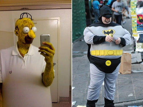 Fat Batman cosplay