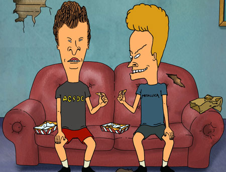 Beavis and Butthead Costume Sets