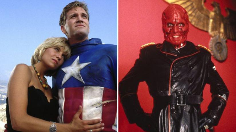Captain America (1990) and the Red Skull