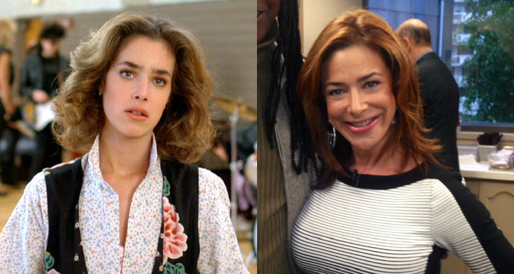 Claudia Wells During Back to the Future and Today