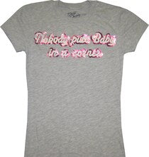 Dirty Dancing Nobody Puts Baby in a Corner Distressed T-shirt