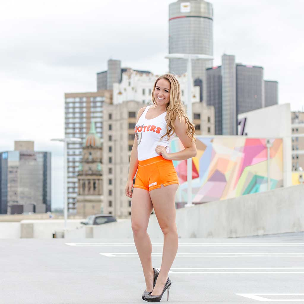 Hooters Girl Outfit Costume Set Girl