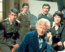 john Levene and the cast of Doctor Who