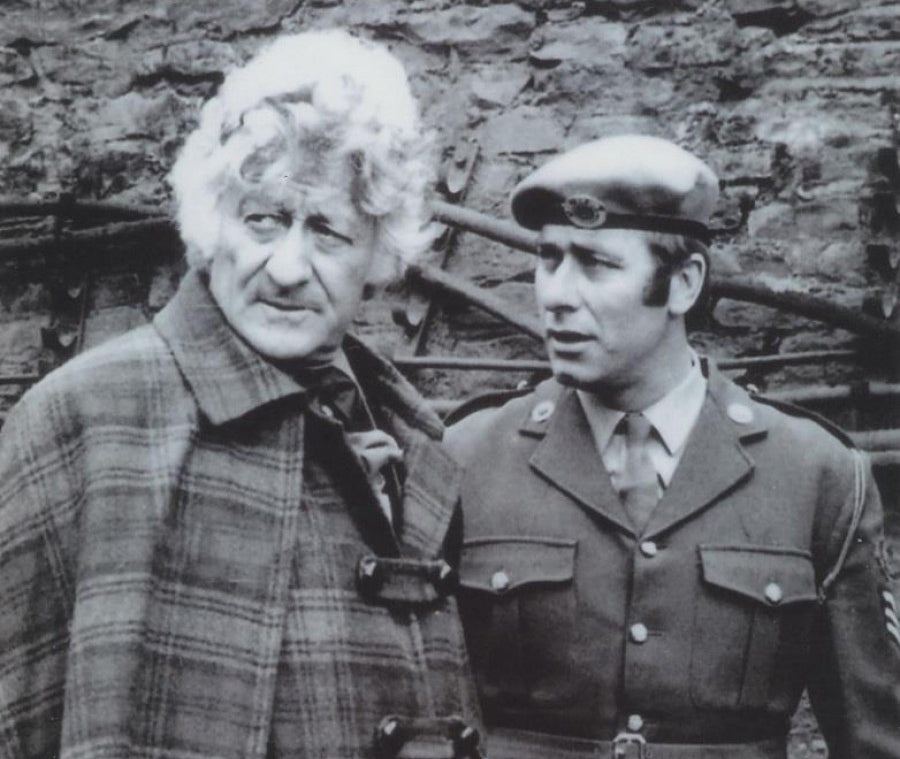 John Levene and John Pertwee from Doctor Who