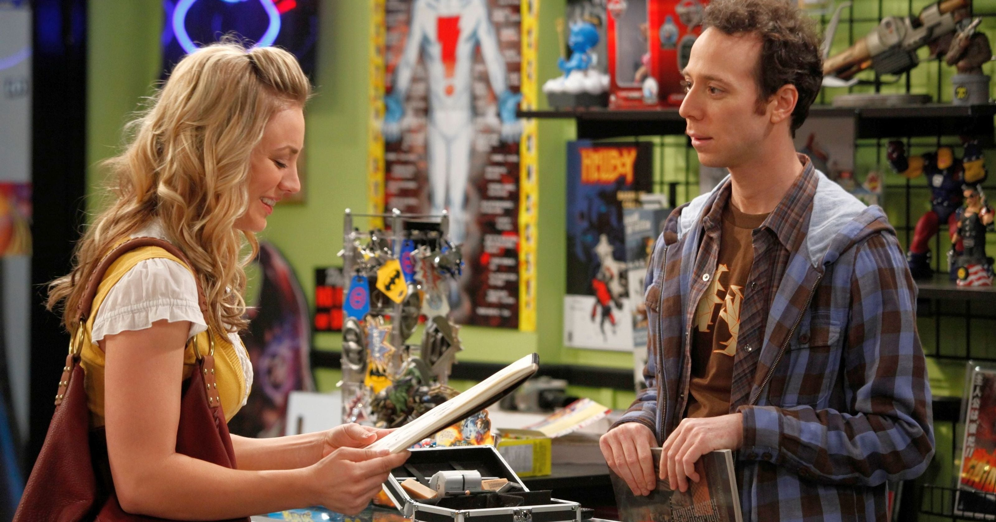 Kevin Sussman Kaley Cucuo The Big Bang Theory