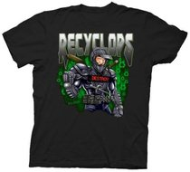 The Office Recyclops Dwight Black Adult T-shirt Tee
