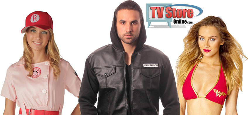 Sexy Halloween costumes available at TVStoreOnline.com