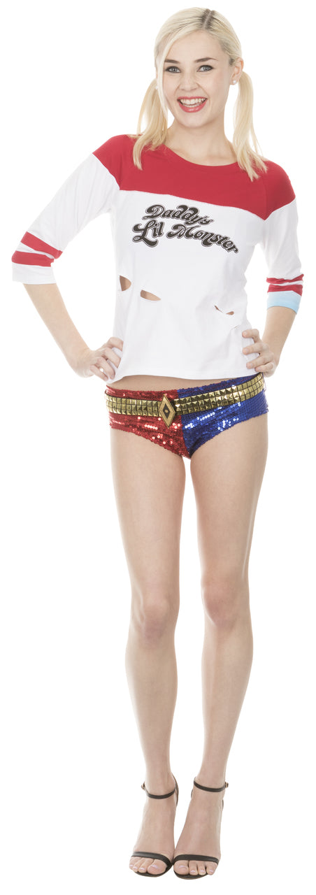 Harley Quinn Suicide Squad movie costume available at TVStoreOnline.com