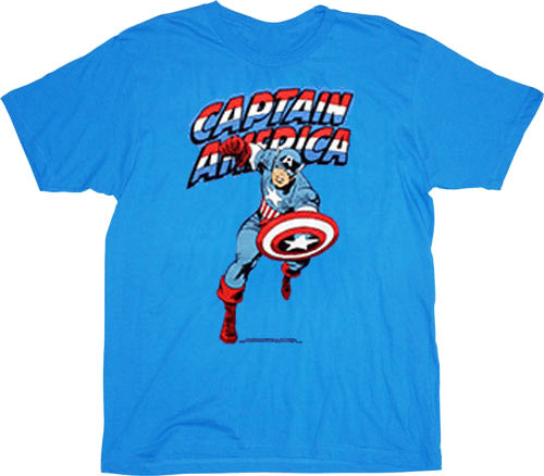 Captain America shirt available at TVStoreOnline.com