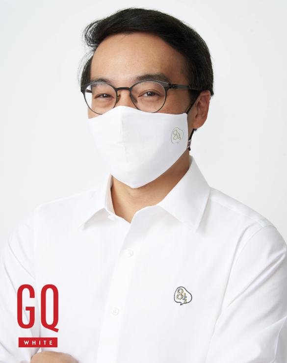 GQWhite™ Mask 8 1/2 Sentences Edition