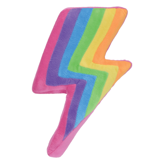 Rainbow Lightning Slow Rise Pillow