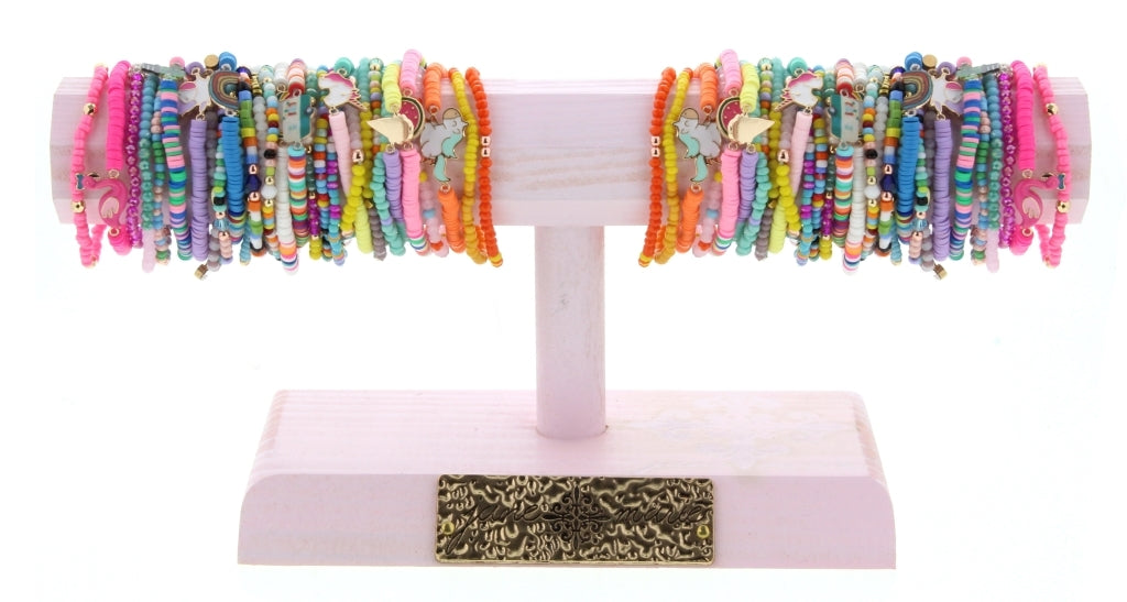 Sassy 3PC Bracelet Set with Charm