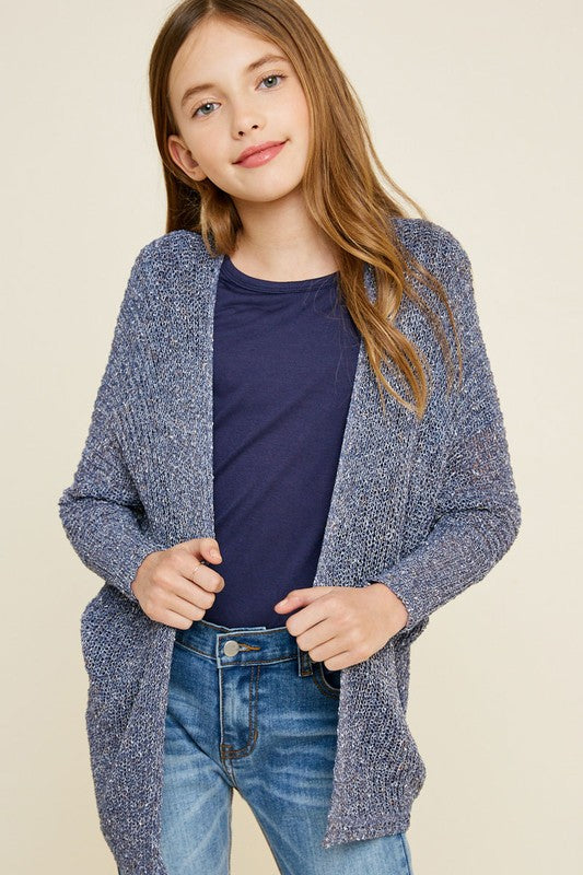 Do What You Please Blue Cardigan - shoptheexchange