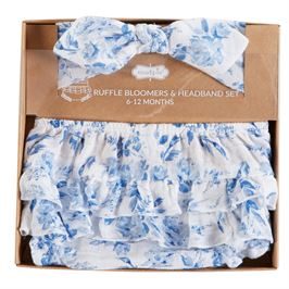 Garden Rose Headband Bloomer Set - shoptheexchange